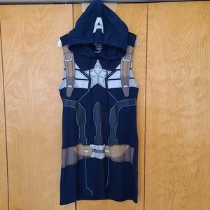 Marvel Captain America hooded dress